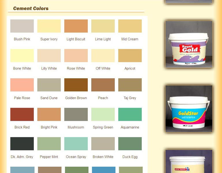 Cement Color Manufacturer & Exporters from Hubli, India | ID - 1196046