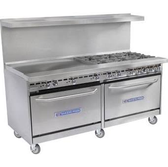 Commercial Gas Range (restaurant kitchen equipment)