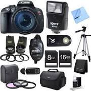 Canon Eos Rebel T5i 18mp Slr Camera (Digital Camera)