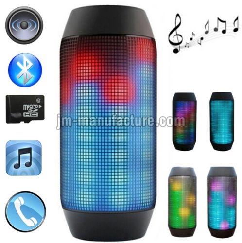 Bluetooth LED Light Speakers