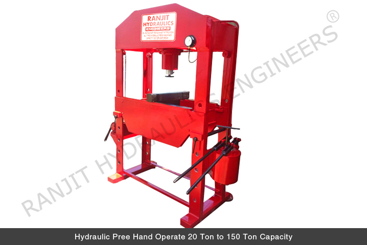 Buy Hydraulic Press from Ranjit Hydraulics Engineers (regd
