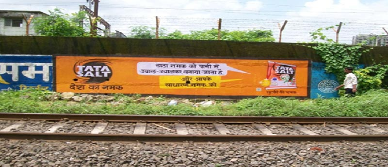 Services Wall Painting Advertising For Railway From Badlapur