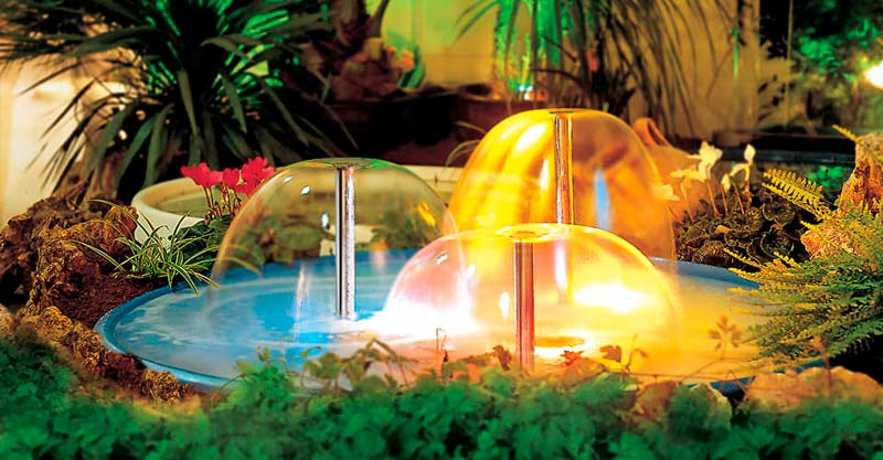 bell jet fountains