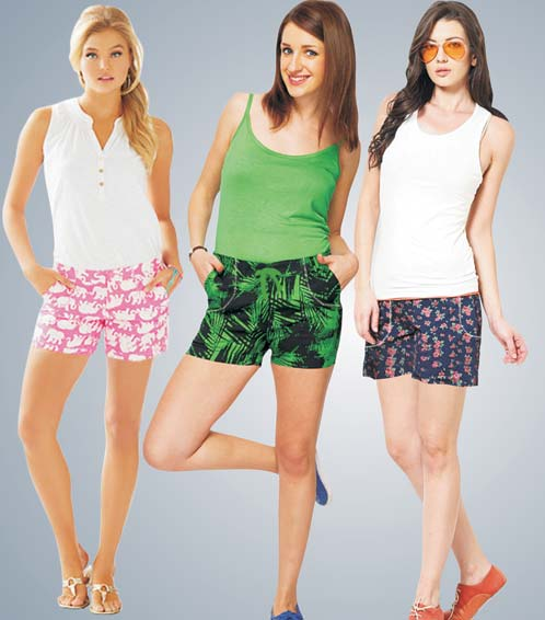 girls in shorts in india