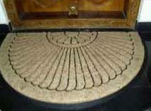 Rubber Moulded Coir Door Mats