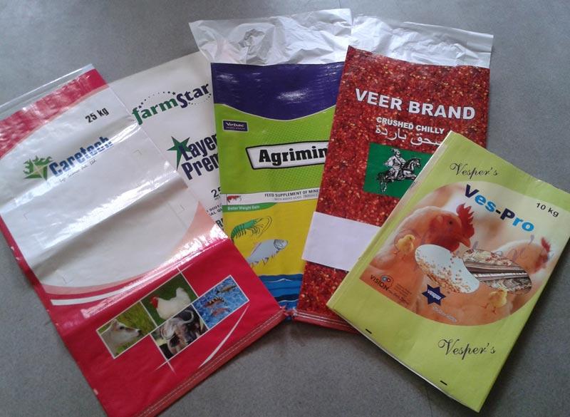 multi colored bags