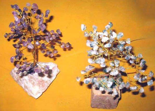 Stone Base Gemstone Tree