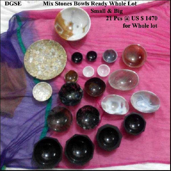 Mix Stone Bowls