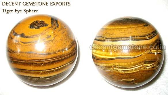 Tiger Eye Spheres