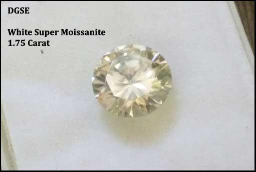 White Moissanite Diamonds