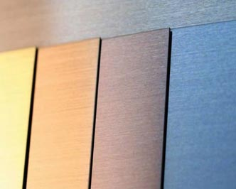 Buy Hairline Color Stainless Steel Sheets From Wills