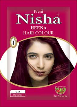 Burgundy Henna Hair Color Manufacturer In Indore Madhya Pradesh