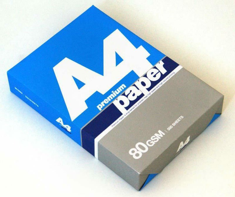 Double a A4 Copy Paper Manufacturer & Exporters from, United
