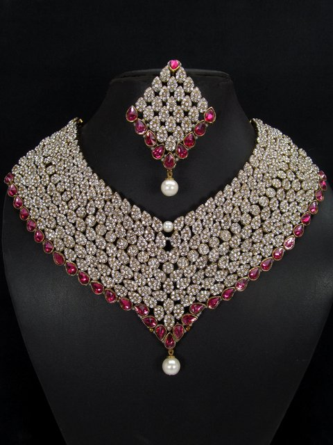 43bf790fb Cz Necklaces Manufacturer in Jharkhand India by Vivayaa Jewels