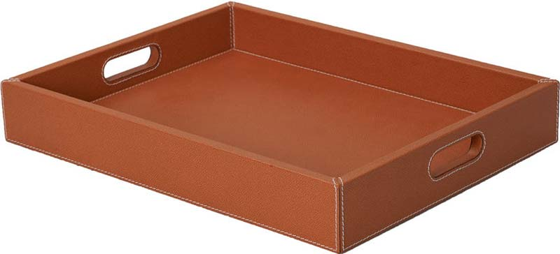 Leather Serving Trays Manufacturer In