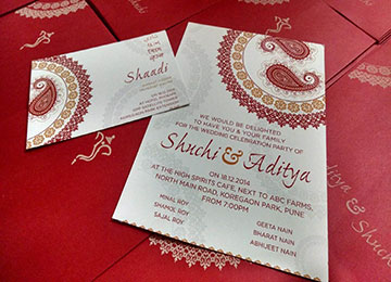 Services wedding invitation card service in kochi offered by wedding invitation card service stopboris Image collections
