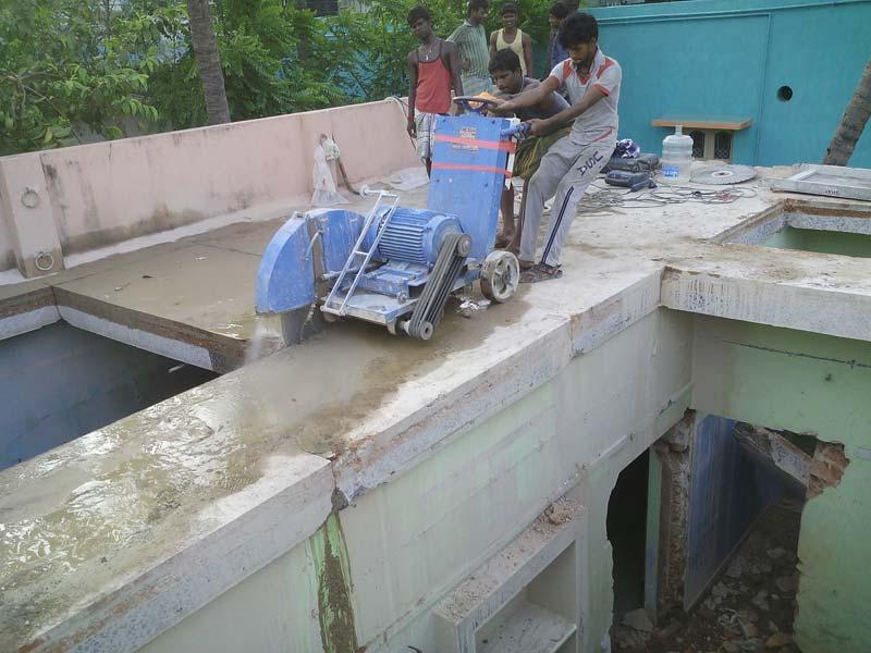 Rcc Concrete Time To Work : Rcc concrete diamond saw cutting work manufacturer