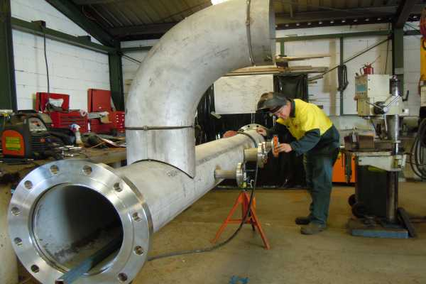 Services Pipe Spool And Pipe Work Fabrication Work From