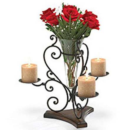 Flower Vase Candle Stand Manufacturer In Uttar Pradesh India By