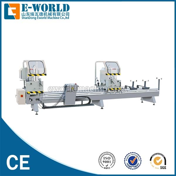 Double Head Aluminum Window Cutting Saw