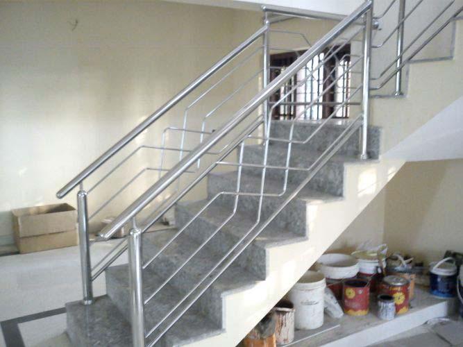 steel stair railing. Stainless Steel Staircase Railings Stair Railing