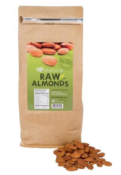 2 LBS RAW ALMONDS