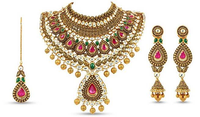 Kundan Jewellery Manufacturer In Delhi Delhi India By