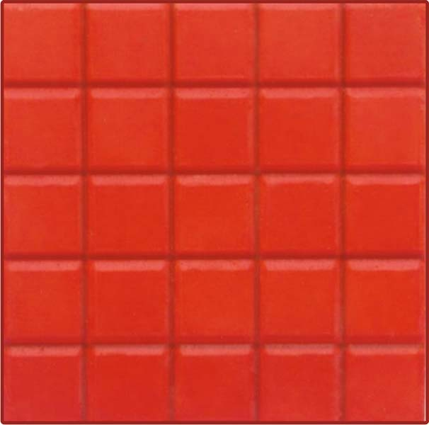 Vertified Chequered Tiles Cherry 122