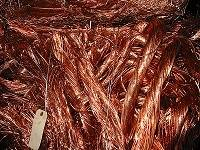 Copper Mill Berry Wire Scrap