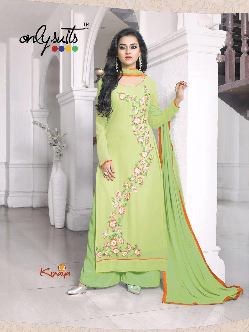 04eabc83be Buy Branded Designer Georgette Kimya Salwar Kameez from SIBI ...