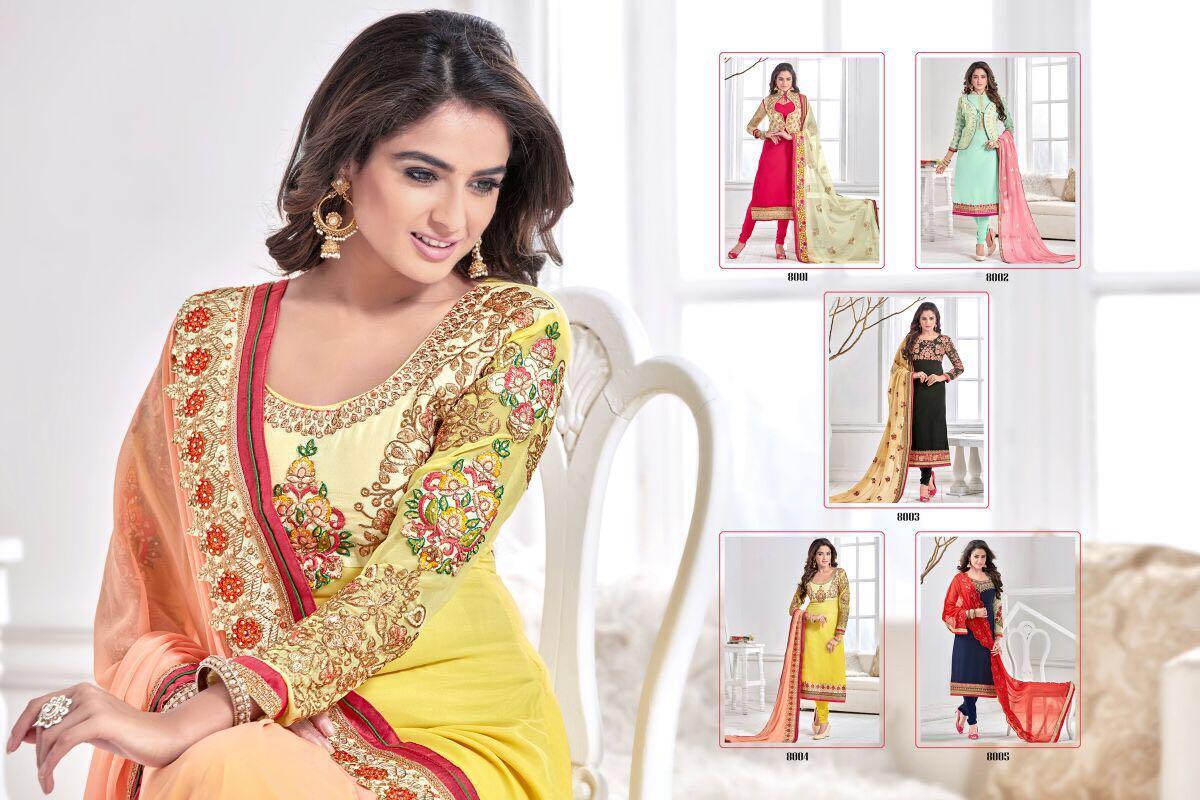 f9dffd55f9 Buy Shop Online Angle-8 Semistitched Salwar Kameez At Wholesaler ...