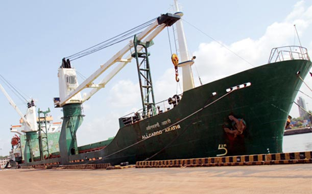 Services - Coastal Shipping Services from Gujarat India by