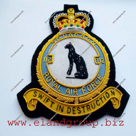 Bullion Badges Hand Embroidery Manufacturer in Pakistan by E Land