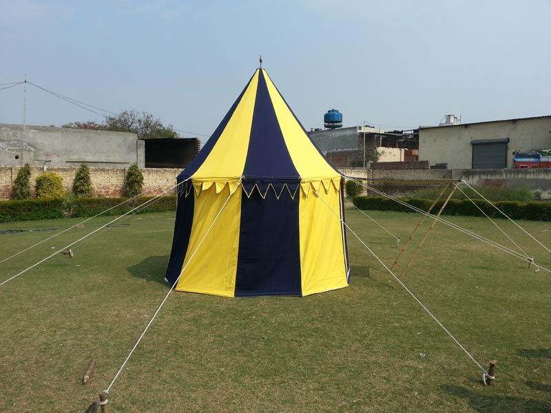 Medieval Round Tent & Medieval Round Tent Manufacturer in Delhi Delhi India by Namdhari ...