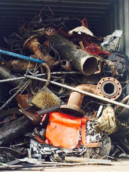 hms1 metal scrap