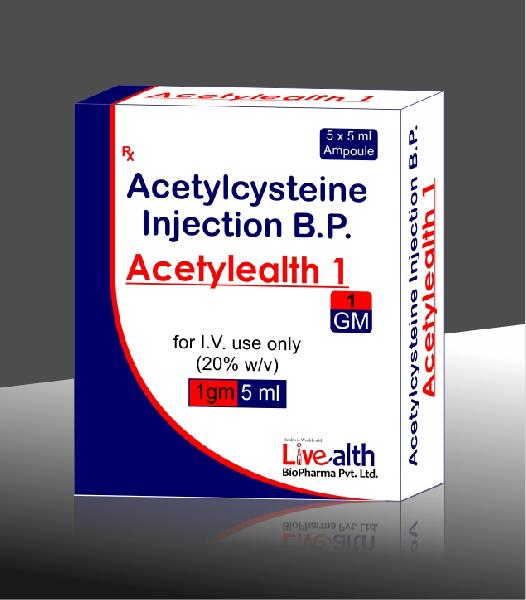 Acetylcysteine injection Manufacturer in Navi Mumbai ...