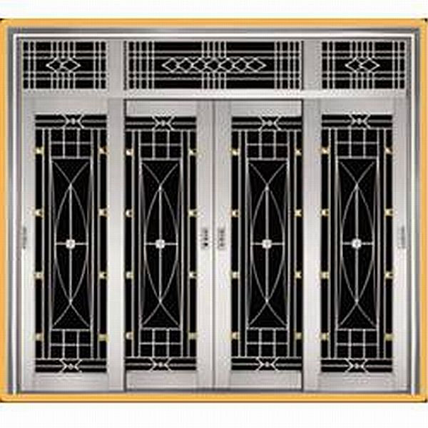 Stainless steel window grill 01 wholesale suppliers in new for Window design bangladesh