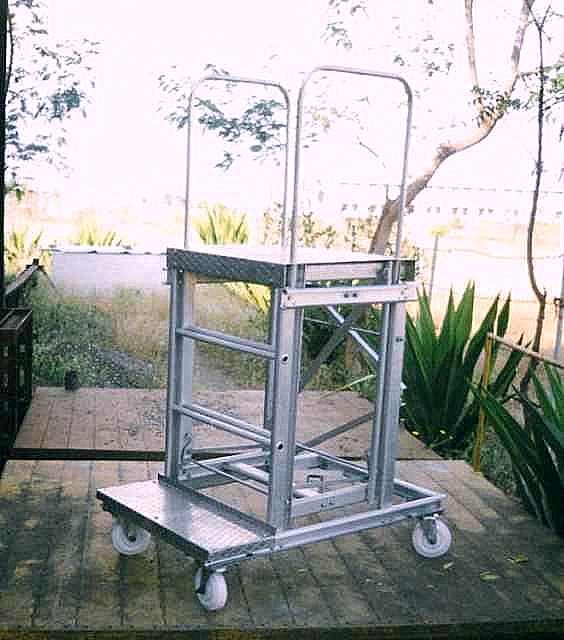 Aluminium Platform Ladder (KCS/AL/PLT)