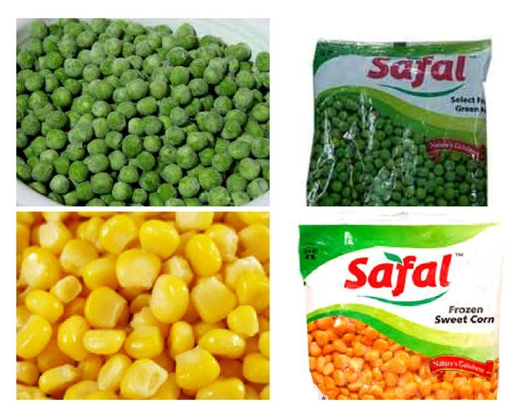 Frozen Vegetarian Foods