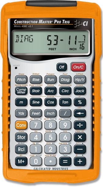 Construction Master Pro Trig Calculator