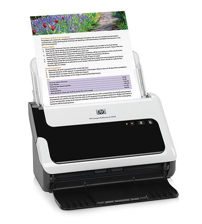 HP Scanjet Professional 3000 Printer