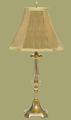 Antique Brass Lamp by International Brass Corporation, Antique Brass Lamp |  ID - 204177
