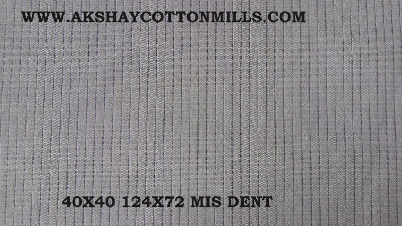 Cotton Grey shirting fabric