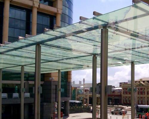 Stainless Steel Glass Canopy Manufacturer In Uttar Pradesh