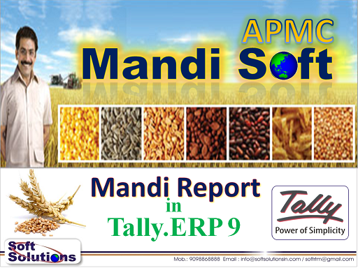 Mandi (APMC) Software for Tally (TCMandi)