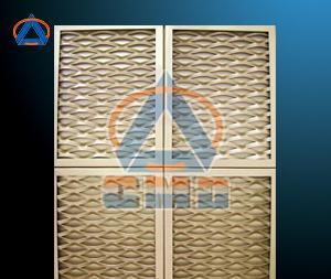 Aluminium Expanded Metal Mesh Panels (CMD-EM001)
