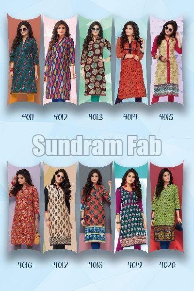 4bd4b55ab8 BABY DOLL vol-4-cotton kurti catalog Manufacturer in Gujarat India ...