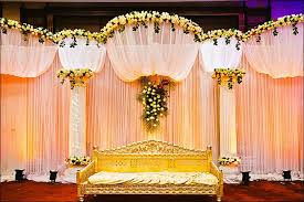 Wedding Stage Backdrop Manufacturer In Karnataka India By