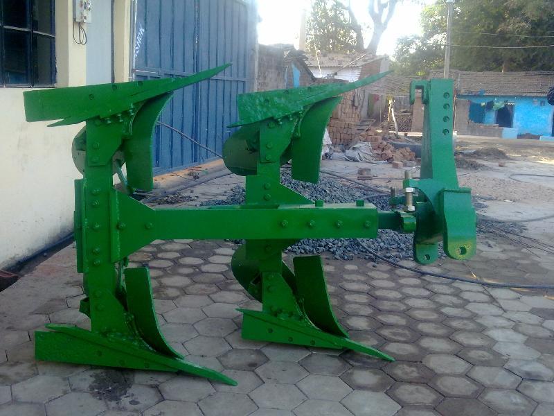 55 HP Tractor Reversible Plough