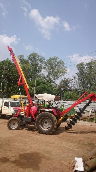 Post Hole Digger and Pole Erector